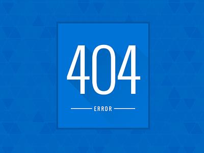 404 Error 404 error blue diamonds