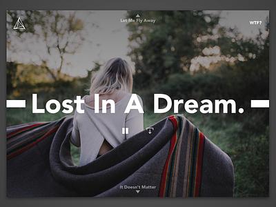 Lost In A Dream webdesign music