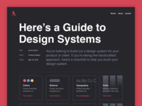 A Guide to Design System