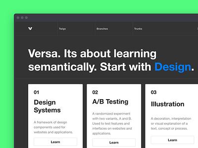 Versa helvetica app user interface ui design versa