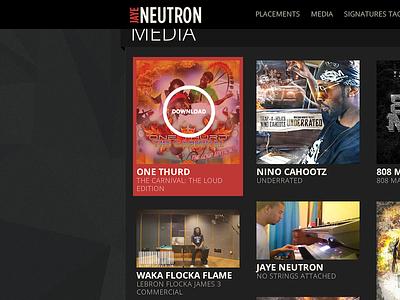 Media Section for JayeNeutron.com media download roll over hiphop rap photos