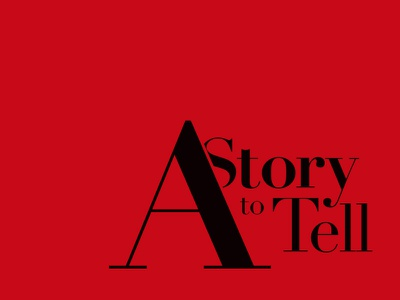 A Story to Tell instrumental album cd artwork music hiphop beats serif red dark story