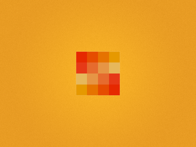 Colorful Boxes and What Not squares color logo red yellow orange cubic cube