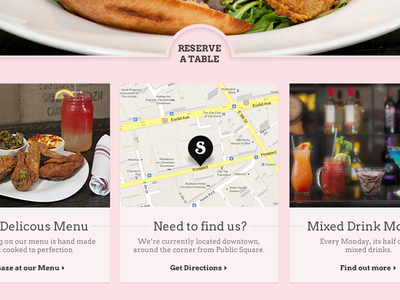 Need to find us? location map restaurant food