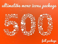 Ultimative Mono Icons Shot