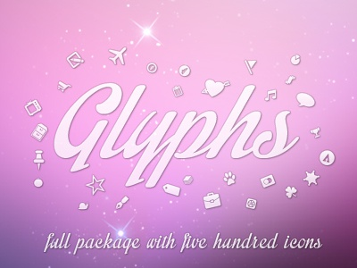 Glyphs shot