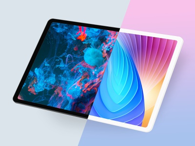 Black & White iPad template landing page isometric design perspective isometric website mockup tablet mockup ipad mockup