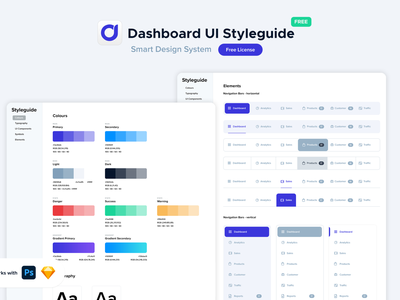 Freebie   Dashboard UI Styleguide designer resources free sketch free psd free download free resource sketch photoshop color styles typography webapp application ui elements charts infographics ui components styleguide ui dashboard freebie