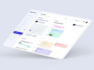 Task Schedule task manager ux ui ui design webapp app calendar platform manegement project task