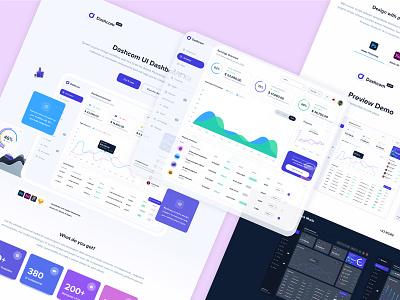 Dashboard UI Kit website concept application website builder webdesign dashboard web ui dashboard ui kit