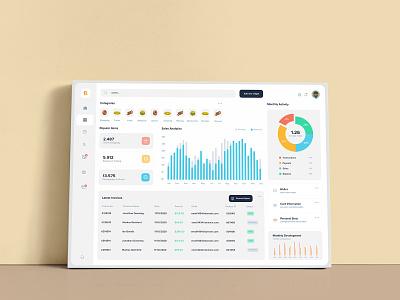 Canvas Style Dashboard canva template ui elements statistics infographics graphics ui dashboard ui kit dashboard style mockup canvas