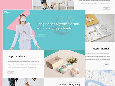 Product Portfolio website design online store market creative marketplace selling page portfolio