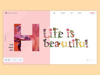 Creative Header Concept