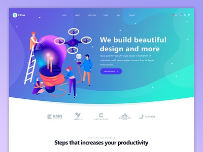 Eldas Website Design