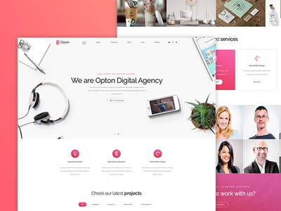 Realistic Landing Page