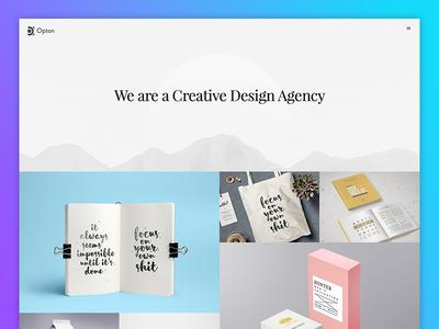 Simple Portfolio branding fashion minimal landing page creative illustration agency wordpress design website template portfolio
