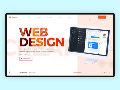 Slider Concept photoshop illustration corporate design corporate website concept branding websdesign