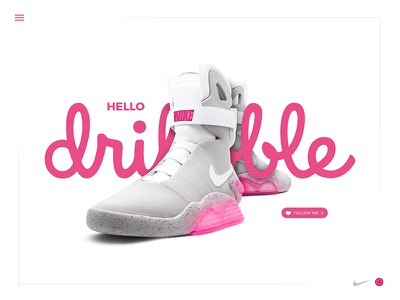 Hello Dribble fresh dribble pink shot first invite hello mag air nike