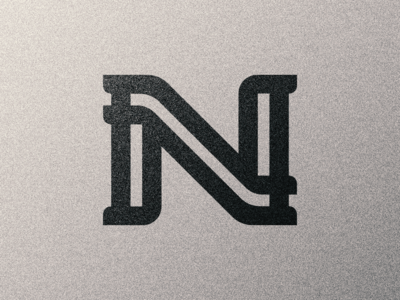 N letter to 36 Days of Type typography monogram type letter n