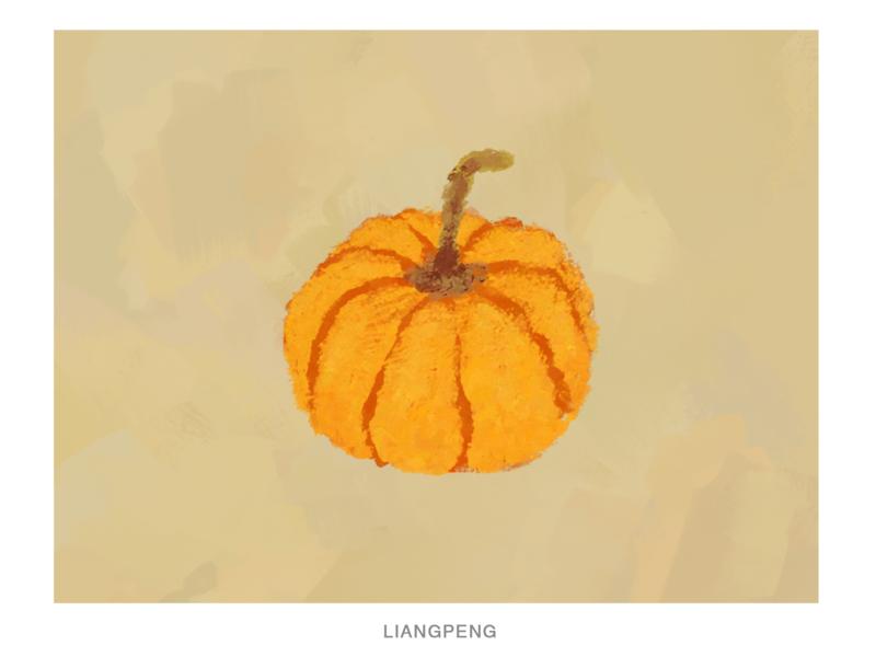 PUMPKIN pumpkin fruit illustration