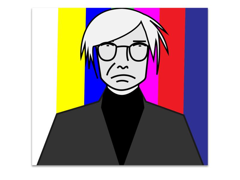 Andy Warhol design andy warhol illustration