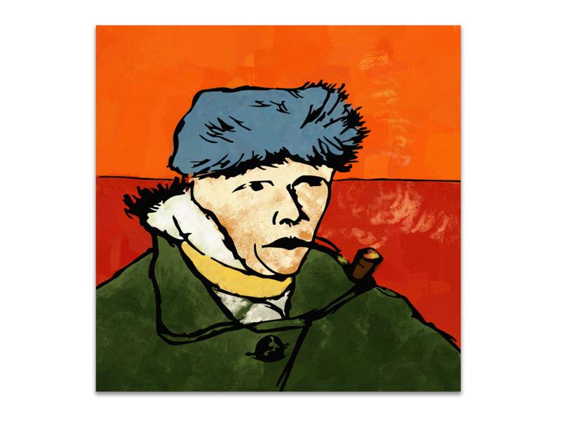 Van Gogh van gogh illustration