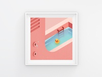 The Poolside - Detail 01