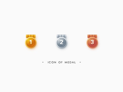 the Medal ui medal icon