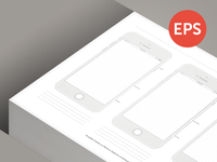 Free Printable iPhone 6 Template
