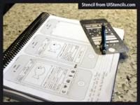 Free UX Printable Templates for iPhone 4s, iPad 2, and Safari 5