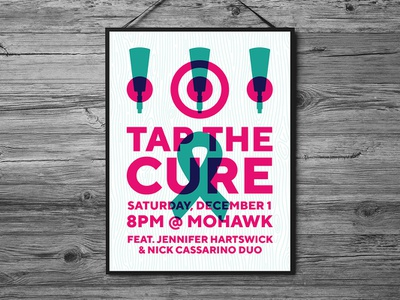 Tap The Cure Poster 2018