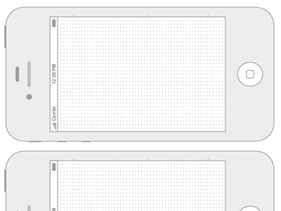 Free Printable iPhone 4 & 4s Templates by Matthew Stephens ...Iphone 4 Template