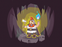 Lvl 3 Dwarf Cleric
