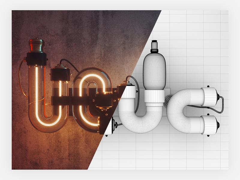 UEDC 设计 辛烷值 c4d