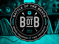 Vinyl album art for Battle of the Beats