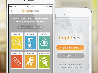 Brightnest iOS app