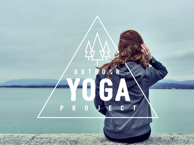 Logo & Graphic for Outdoor Yoga Project