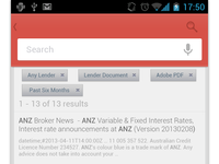 Android Search Sceeen