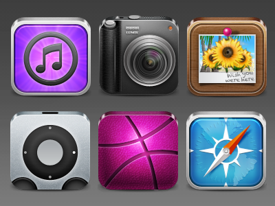 Yes More Icons