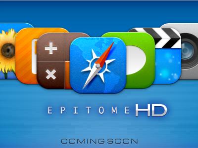 Epitome HD theme iphone design ui icon jailbreak epitome phaze iphaze