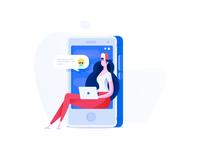 Messaging illustration