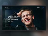 Dental company site concept