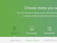 Store Landingpage