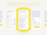 Wireframes - Rebrandless.com