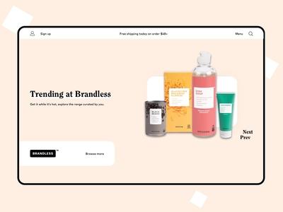Brandless.com Redesign