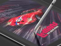 Promo for my motorsport artwork
