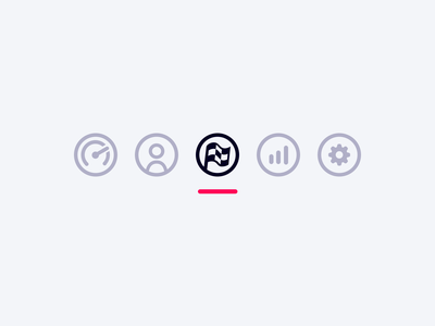 icons! (on light surface) dark light material design admin icon vector logo clean html ux sport app illustration ui motorsport