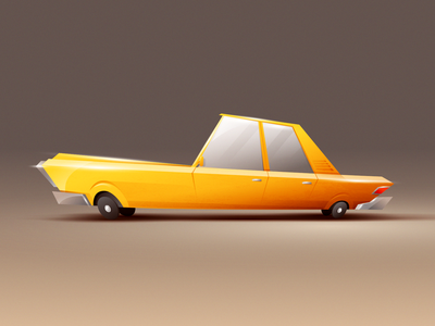Cartoon Car design classic old car graphic cartoon motion animation character 2d illustration flat
