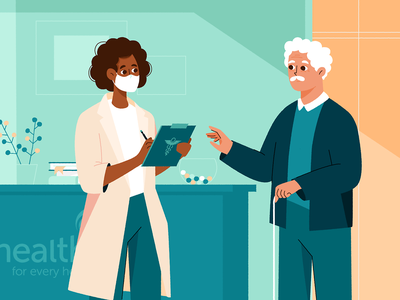 Health motion flat 2d animation illustration character biology healthcare med love science hospital pharmacy medical doctor medicine health