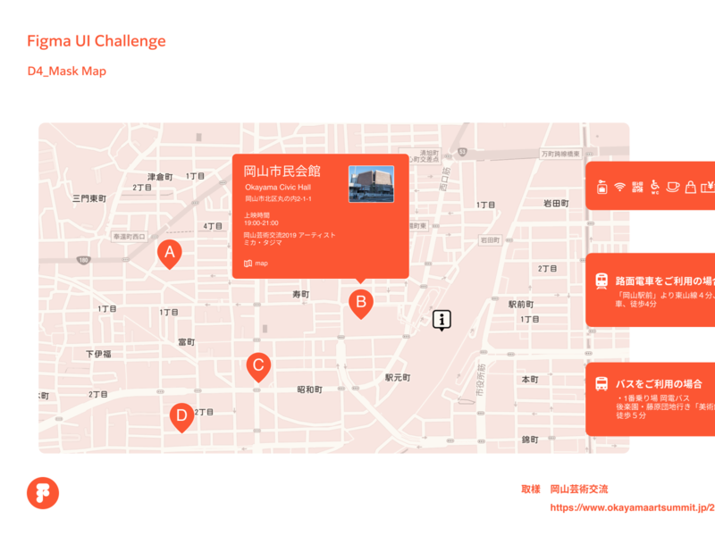 Figma UI Challenge_Day4_Mask Map